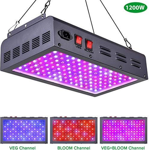 New Maxsisun 1200w Led Grow Light Full Spectrum Led Grow Lights Indoor Plants Veg Flowering Hydroponic Growing System Plant Growing Lamps Cover 2 5x2 5ft In 2020 Led Grow Lights Grow Lights