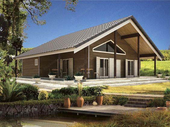Modelo Palencia - Fabricamos casas de madera | Venta casas de madera