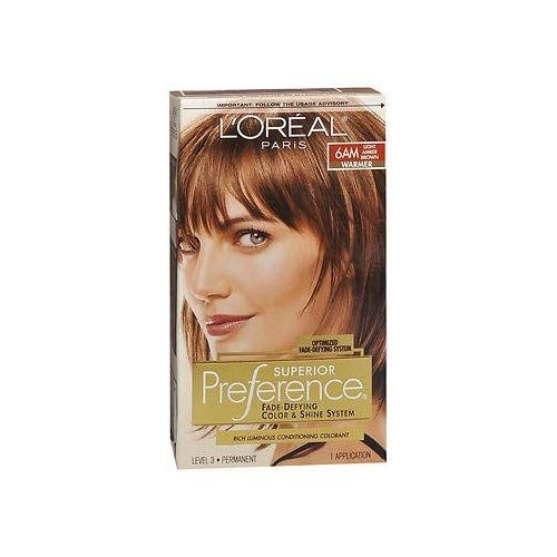 Pref Lgt Amber Brn 6am Size 1ct L Oreal Preference Hair Color Light Amber Brown 6am You Can Find More Details By Visiti Light Hair Color Hair Color Loreal