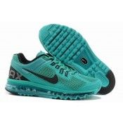 Nike Air Max 2013 Mens Running Shoe Jade/Black