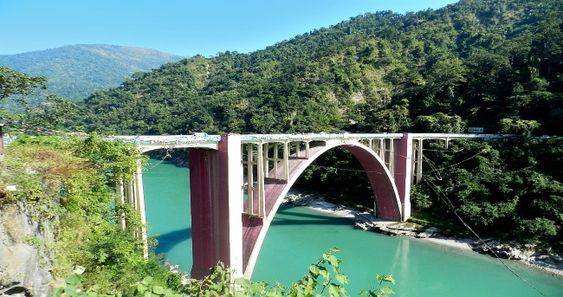 The 'Coronation Bridge' one of the most beautiful bridge in Darjeeling district. It is located at Sevoke ,West Bengal on the river Teesta. This river is connecting two districts of North Bengal, those are Darjeeling and Jalpaiguri.