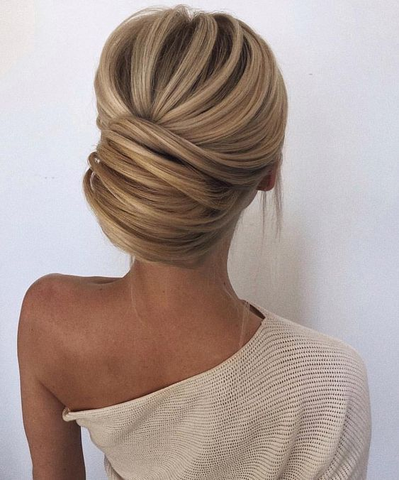 Love This Classic Updo Perfect With A Mikaella Bridal Dress Right