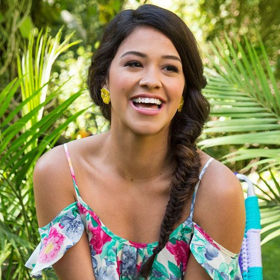 Pin for Later: Gina Rodriguez Lands Her First Fashion Campaign