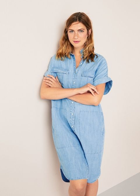 Robe denim soft