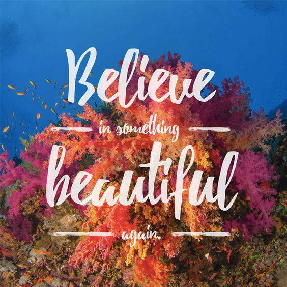 Believe in Something Beautiful Again- You may be thinking about your last Outer Banks beach vacation or planning your next one, but either way we'll help you get into an OBX state of mind with these beach quotes and sayings. They're some of our favorites, so expect to be inspired to head toward the sun, sand and sea. We'll see you there!