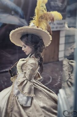 Rococo inspired gown
