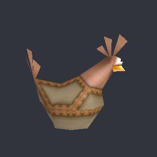 3D model Chicken Statue (EWJ 3D).obj - Nintendo 64 - Earthworm Jim 3D - Chicken Statue - The Models Resource - 65 vertices - 73 polygons  See it in 3D: https://www.yobi3d.com/v/1JhunKjNGM/Chicken Statue (EWJ 3D).obj