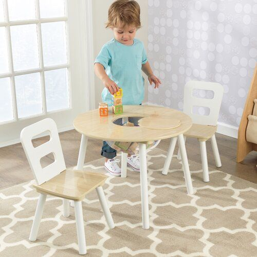 Toddler Table And Chairs, Kids Round Table