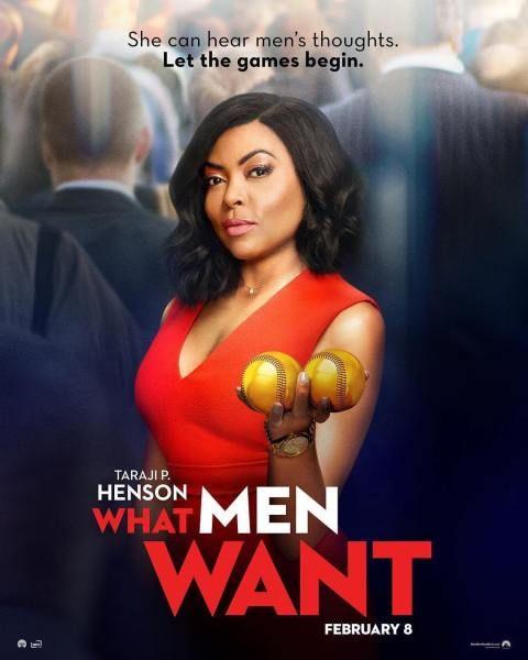Taraji Phenson New Movies 2019 What Men Want February In