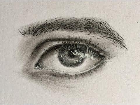 La Tecnica Mas Facil De Dibujar Un Ojo Realista Como Dibujar Un Ojo Youtube Drawings Draw Youtube