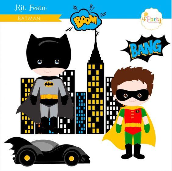 Festa Batman: Kit Personalizado | Bem-Vindos à 4Party|Kits para Festas. #batman #festabatman #batmanparty #superherois #papelariapersonalizada #kitsparafestas #decoracaodefesta #partydecor #festademenino #festasuperherois #superheroes #superheroparty