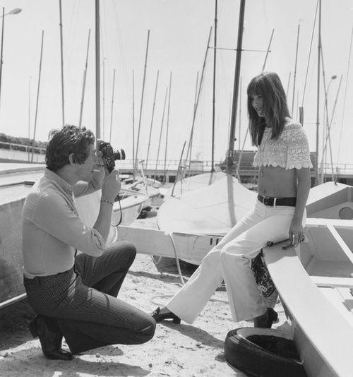 Serge Gainsbourg & Jane Birkin. Beautiful.