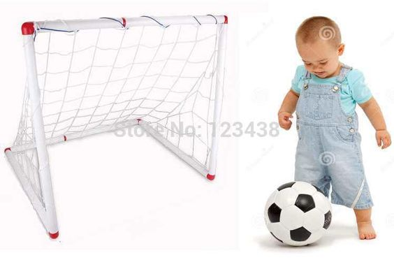 Football Toys For Boys : Kids children baby inflation soccer football sports stands