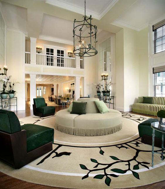 design balanced living room
