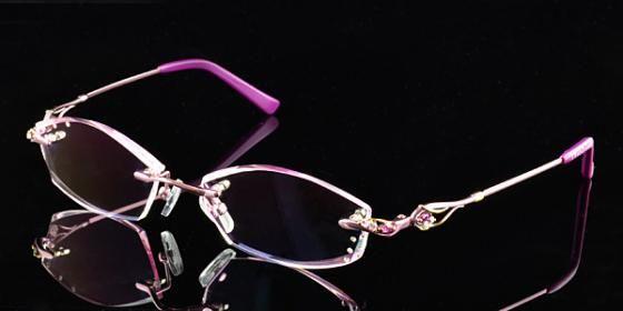 Rimless Glasses More Attractive : Scriptglasses.com,Script glasses,Diamond cutting edge of ...
