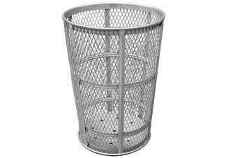 This simple, yet sturdy galvanized trash receptacle is the perfect addition to your commercial site, keep your grounds clean with this receptacle
