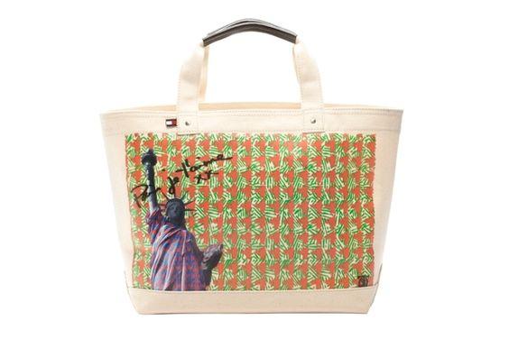 Tommy Hilfiger's Limited Ed CFDA designer bags (Sophie Theallet)
