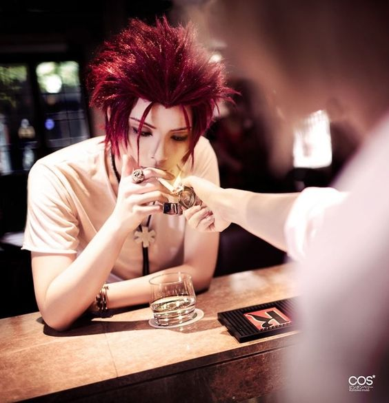 Mikoto Suo (K) cosplay by YUEGENE. So guyish but still pulls it off x.x #k…