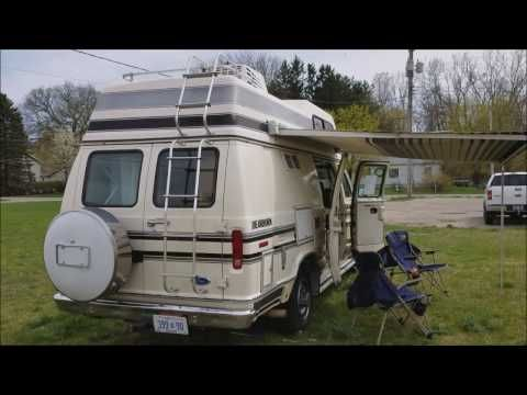 Sold 1989 Ford E250 Class B Camper Van Rust Free From California Youtube Class B Camper Van Camper Van Ford E250