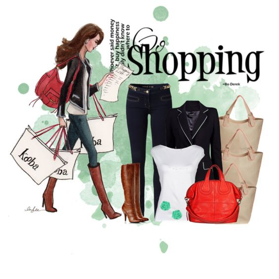"""Shopping"" by nora-nazeer ❤ liked on Polyvore"
