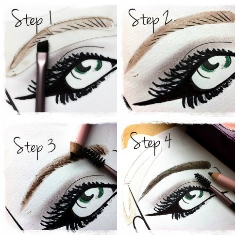 Get perfect brows step-by-step with our Pro Brow Kit guide... — at Crownbrush HQ.