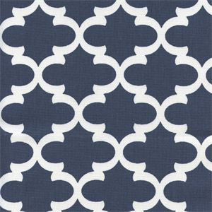 This is a beautiful premier navy contemporary drapery fabric by Premier Prints…
