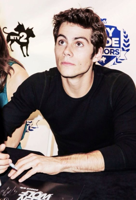 Dylan O'Brien  holy shit..