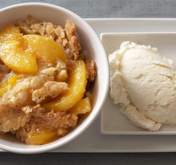 G. Garvin Peach Cobbler.: Garvin S Peach, Peach Cobbler Recipes, Garvin Peach, Desserts Sweets, Food Drink, Desserts Chefgarvin, Chef Garvin, Garvin Recipes