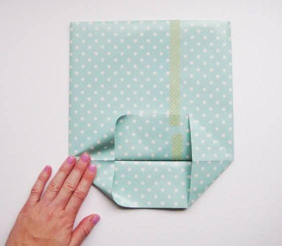 paper gift bag tutorial
