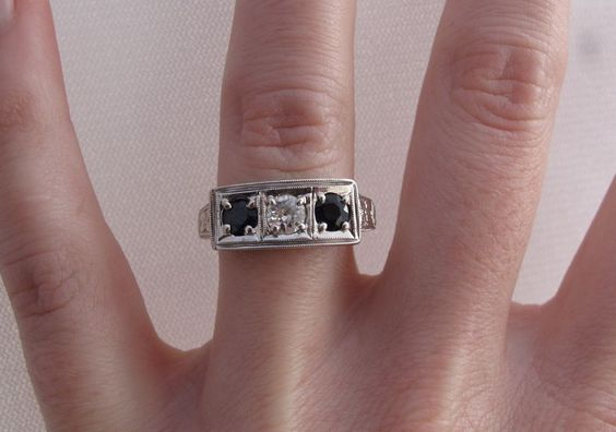 I think we've got a winner for the design for Grandma's diamond.