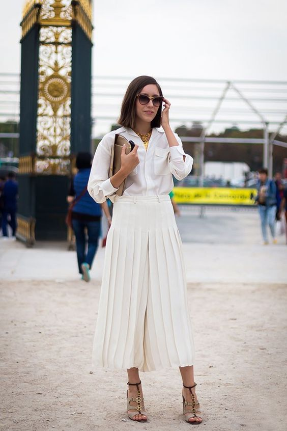 Look branco: inspirações para vestir branco sem medo