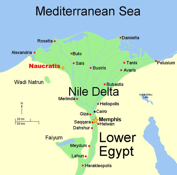 Travel to the Nile Delta the birthplace of civilization – Delta Travel Map