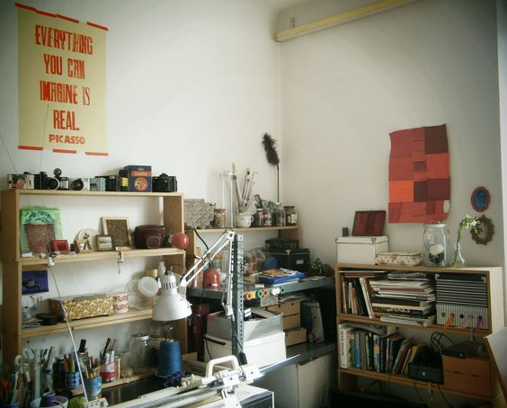 everything you can imagine is real @picasso  in my atelier