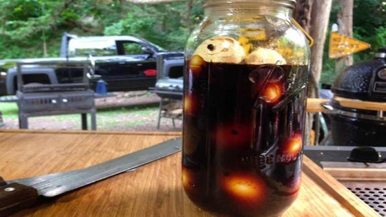 Chili Jar Eggs Chili Jar Eggs Need something to munch on with those ice cold beers..? Try these easy to make marinated eggs. The Chickens luv 'em, we luv 'em, and so do the critters. You need…