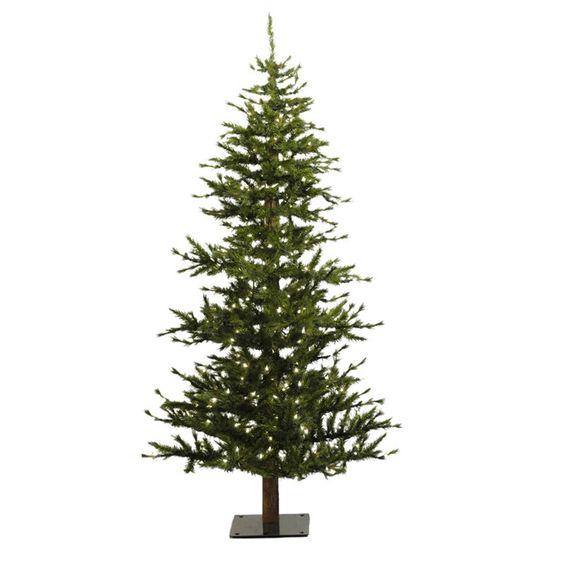 Vickerman Minnesota Pine Half Christmas Tree - A803945