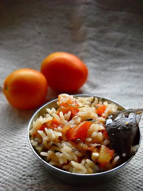 portuguese tomato rice recipe, how to make tomato rice recipe