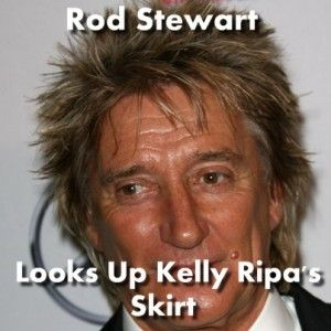 Live!: Rod Stewart Beats Writers Block & Cant Stop Me Now Performance