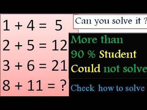 Math Puzzle With Answer Check How To Solve Urdu Hindi Only For