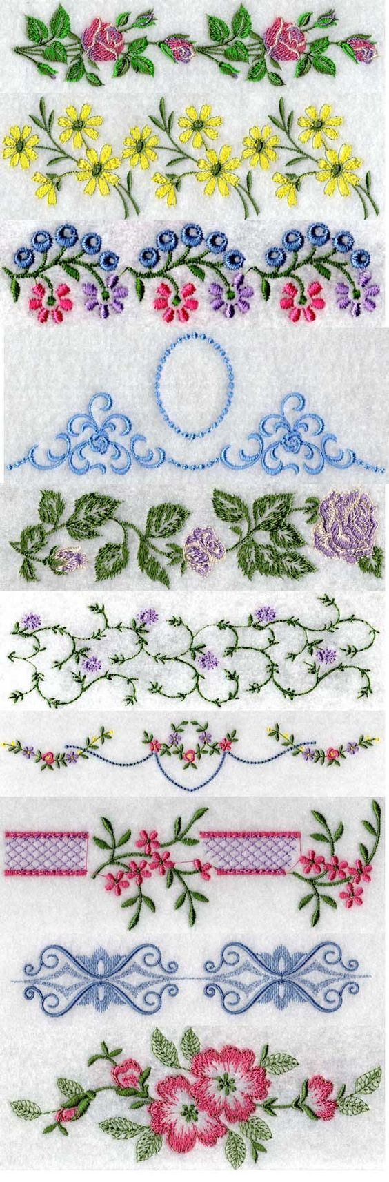 Linens embroidery machine design details designs by sick