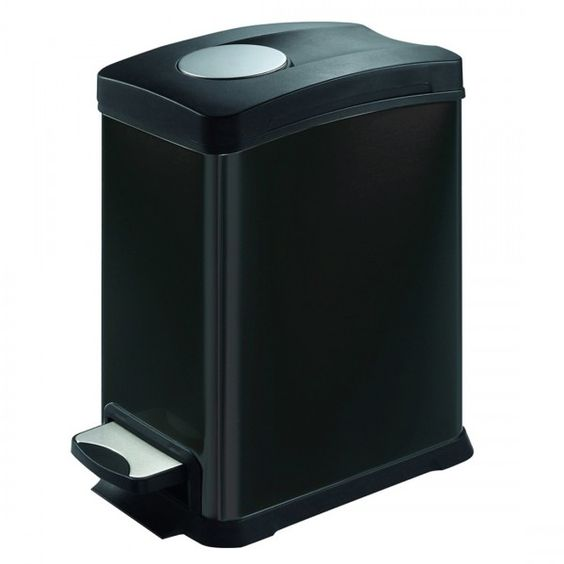 The Eko Step Bin has a special soft close system. This ensures the bin lid slowly closes down after you remove your foot from the pedal. It has a solid plastic inner bucket which can be easily removed to clean or replace your bin liner. These bins carry a three year warranty and are finished in brushed fingerproof stainless.