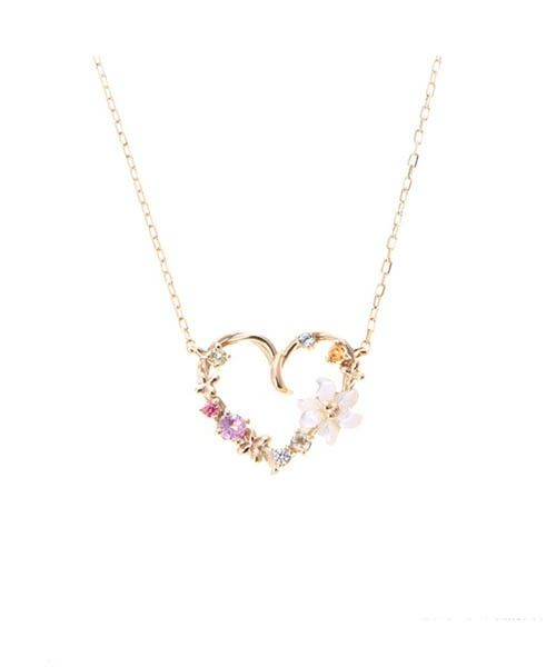 Samantha Tiara(サマンサティアラ)のネックレス「【CM着用商品】 Samantha Flower Tiaraネックレス(ハートモチーフ)」(00091610404001)を購入できます。