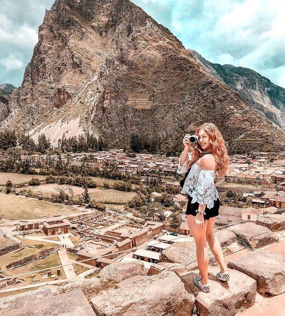 Conoce las ruinas de #Ollantaytambo