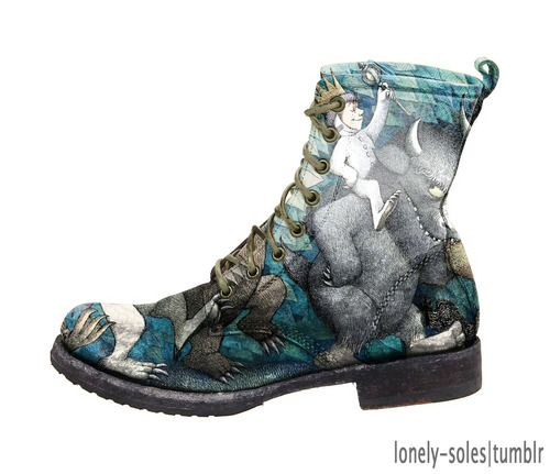 """where the wild things are"" boots."