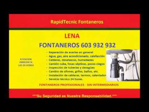 Fontaneros LENA 603 932 932 baratos
