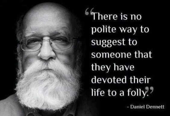 There isn't, so just don't bother fucking trying. Just tell it like it is... - http://holesinthefoam.us/dennett-thereisnopoliteway/