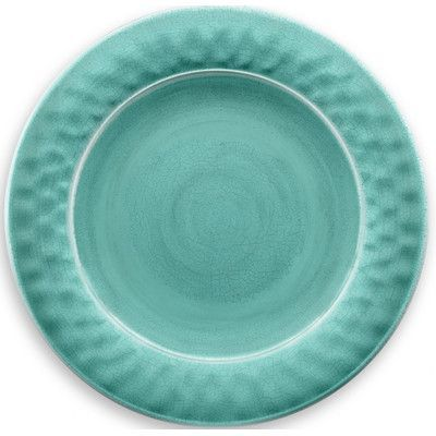 "TarHong Crackle Glaze 10.5"" Dinner Plate Color:"