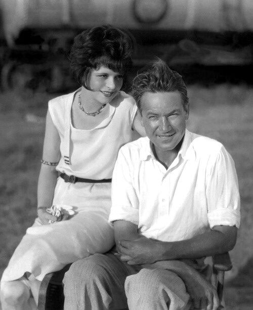 Clara with Victor Fleming: