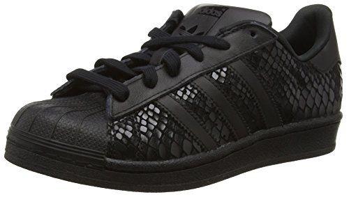 adidas Superstar, Damen Sneakers, Schwarz (Core Black/Core Black/Core Black), 36 2/3 EU (4 Damen UK) - http://on-line-kaufen.de/adidas/36-2-3-eu-adidas-superstar-damen-sneakers-3