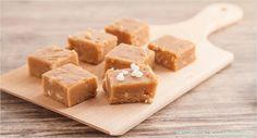 Backen macht glücklich | Peanut butter fudge: Erdnuss-Konfekt zum Dahinschmelzen | http://www.backenmachtgluecklich.de