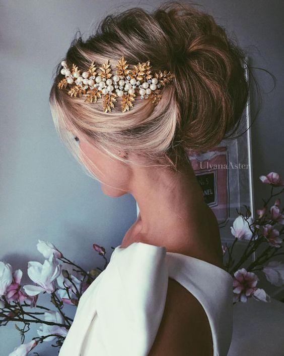 Wedding Hairstyle - Bridal Updo - Belle The Magazine